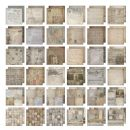 TH93052 Tim Holtz® Idea-ology™ Paper Stash 12 x 12 - French Industrial